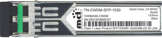 Transition Networks TN-CWDM-SFP-1530 (100% Transition Networks Compatible) SFP Transceiver Module