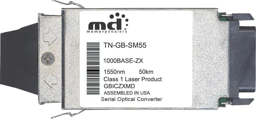 Transition Networks TN-GB-SM55 (100% Transition Networks Compatible) GBIC Transceiver Module