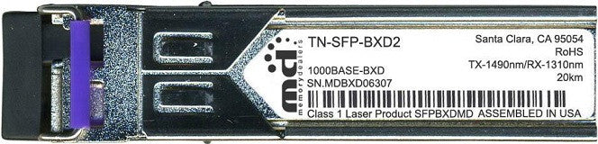Transition Networks TN-SFP-BXD2 (100% Transition Networks Compatible) SFP Transceiver Module