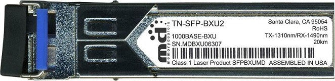 Transition Networks TN-SFP-BXU2 (100% Transition Networks Compatible) SFP Transceiver Module