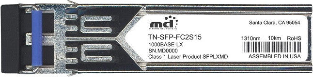 Transition Networks TN-SFP-FC2S15 (100% Transition Networks Compatible) SFP Transceiver Module