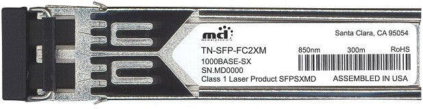 Transition Networks TN-SFP-FC2XM (100% Transition Networks Compatible) SFP Transceiver Module