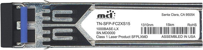 Transition Networks TN-SFP-FC2XS15 (100% Transition Networks Compatible) SFP Transceiver Module