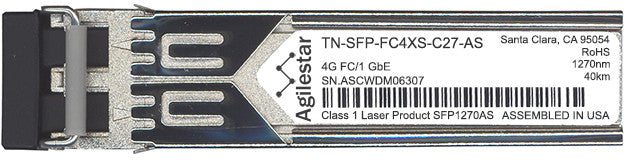 Transition Networks TN-SFP-FC4XS-C27-AS (Agilestar Original) SFP Transceiver Module
