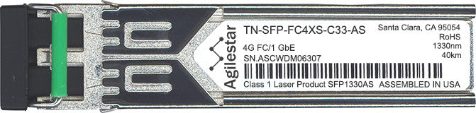 Transition Networks TN-SFP-FC4XS-C33-AS (Agilestar Original) SFP Transceiver Module