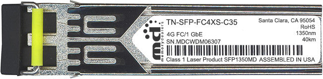 Transition Networks TN-SFP-FC4XS-C35 (100% Transition Networks Compatible) SFP Transceiver Module