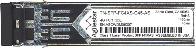 Transition Networks TN-SFP-FC4XS-C45-AS (Agilestar Original) SFP Transceiver Module