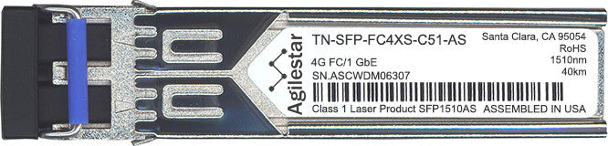 Transition Networks TN-SFP-FC4XS-C51-AS (Agilestar Original) SFP Transceiver Module
