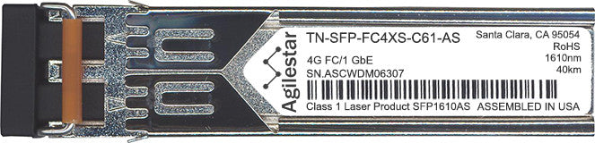 Transition Networks TN-SFP-FC4XS-C61-AS (Agilestar Original) SFP Transceiver Module