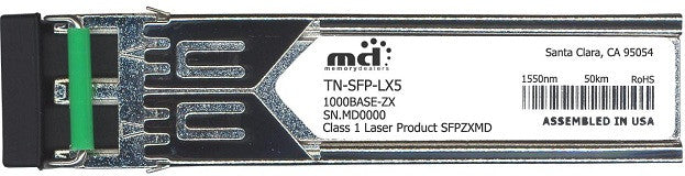 Transition Networks TN-SFP-LX5 (100% Transition Networks Compatible) SFP Transceiver Module
