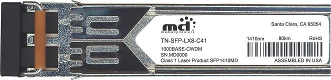 Transition Networks TN-SFP-LX8-C41 (100% Transition Networks Compatible) SFP Transceiver Module