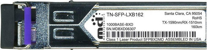 Transition Networks TN-SFP-LXB162 (100% Transition Networks Compatible) SFP Transceiver Module