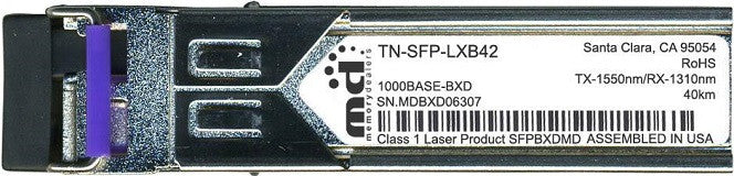 Transition Networks TN-SFP-LXB42 (100% Transition Networks Compatible) SFP Transceiver Module