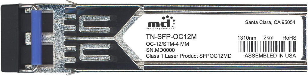 Transition Networks TN-SFP-OC12M (100% Transition Networks Compatible) SFP Transceiver Module