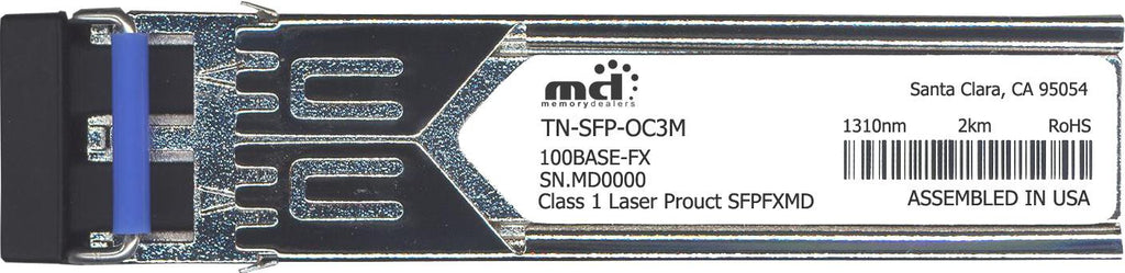 Transition Networks TN-SFP-OC3M (100% Transition Networks Compatible) SFP Transceiver Module