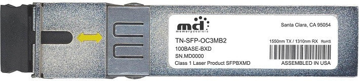 Transition Networks TN-SFP-OC3MB2 (100% Transition Networks Compatible) SFP Transceiver Module