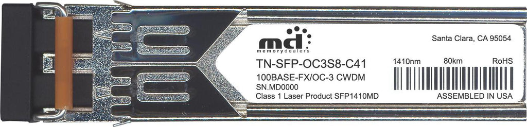 Transition Networks TN-SFP-OC3S8-C41 (100% Transition Networks Compatible) SFP Transceiver Module