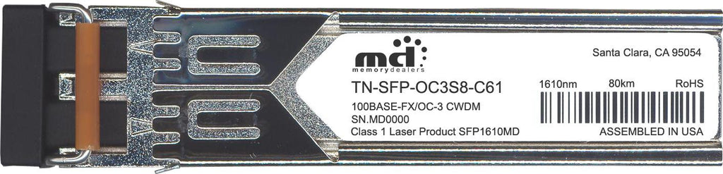 Transition Networks TN-SFP-OC3S8-C61 (100% Transition Networks Compatible) SFP Transceiver Module