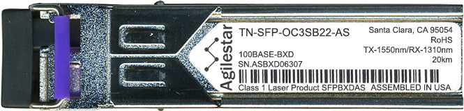 Transition Networks TN-SFP-OC3SB22-AS (Agilestar Original) SFP Transceiver Module