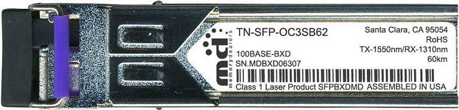Transition Networks TN-SFP-OC3SB62 (100% Transition Networks Compatible) SFP Transceiver Module