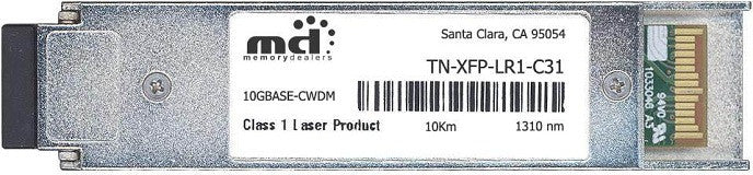 Transition Networks TN-XFP-LR1-C31 (100% Transition Networks Compatible) XFP Transceiver Module