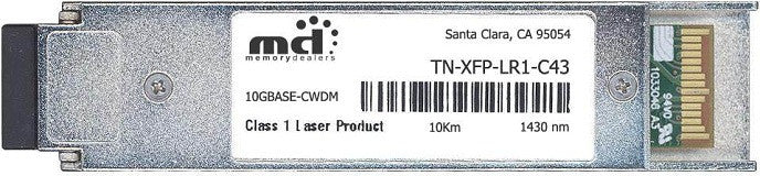 Transition Networks TN-XFP-LR1-C43 (100% Transition Networks Compatible) XFP Transceiver Module