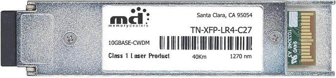 Transition Networks TN-XFP-LR4-C27 (100% Transition Networks Compatible) XFP Transceiver Module