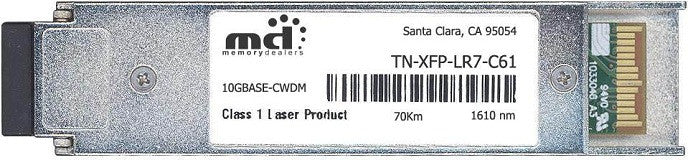 Transition Networks TN-XFP-LR7-C61 (100% Transition Networks Compatible) XFP Transceiver Module