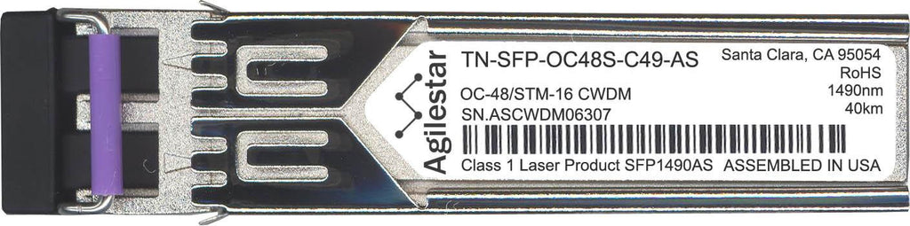 Transition Networks TN-SFP-OC48S-C49-AS (Agilestar Original) SFP Transceiver Module