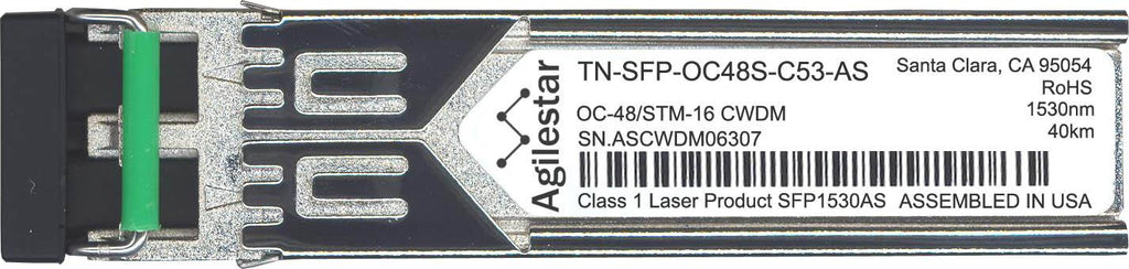 Transition Networks TN-SFP-OC48S-C53-AS (Agilestar Original) SFP Transceiver Module