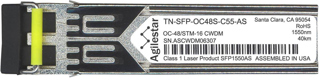 Transition Networks TN-SFP-OC48S-C55-AS (Agilestar Original) SFP Transceiver Module