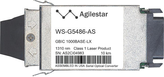 Cisco GBIC Transceivers WS-G5486-AS (Agilestar Original) GBIC Transceiver Module