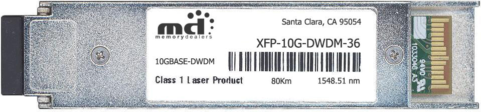 Alcatel XFP-10G-DWDM-36 (100% Alcatel-Lucent Compatible) XFP Transceiver Module