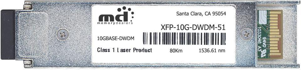 Alcatel XFP-10G-DWDM-51 (100% Alcatel-Lucent Compatible) XFP Transceiver Module