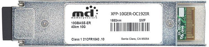 Cisco XFP Transceivers XFP-10GER-OC192IR (100% Cisco Compatible) XFP Transceiver Module