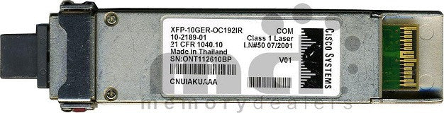Cisco XFP Transceivers XFP-10GER-OC192IR (Cisco Original) XFP Transceiver Module