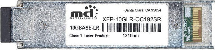 Cisco XFP Transceivers XFP-10GLR-OC192SR (100% Cisco Compatible) XFP Transceiver Module