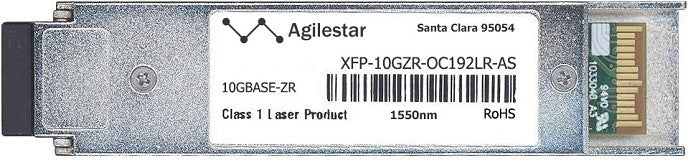 Cisco XFP Transceivers XFP-10GZR-OC192LR-AS (Agilestar Original) XFP Transceiver Module