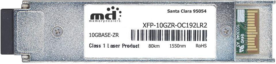 Cisco XFP Transceivers XFP-10GZR-OC192LR2 (100% Cisco Compatible) XFP Transceiver Module