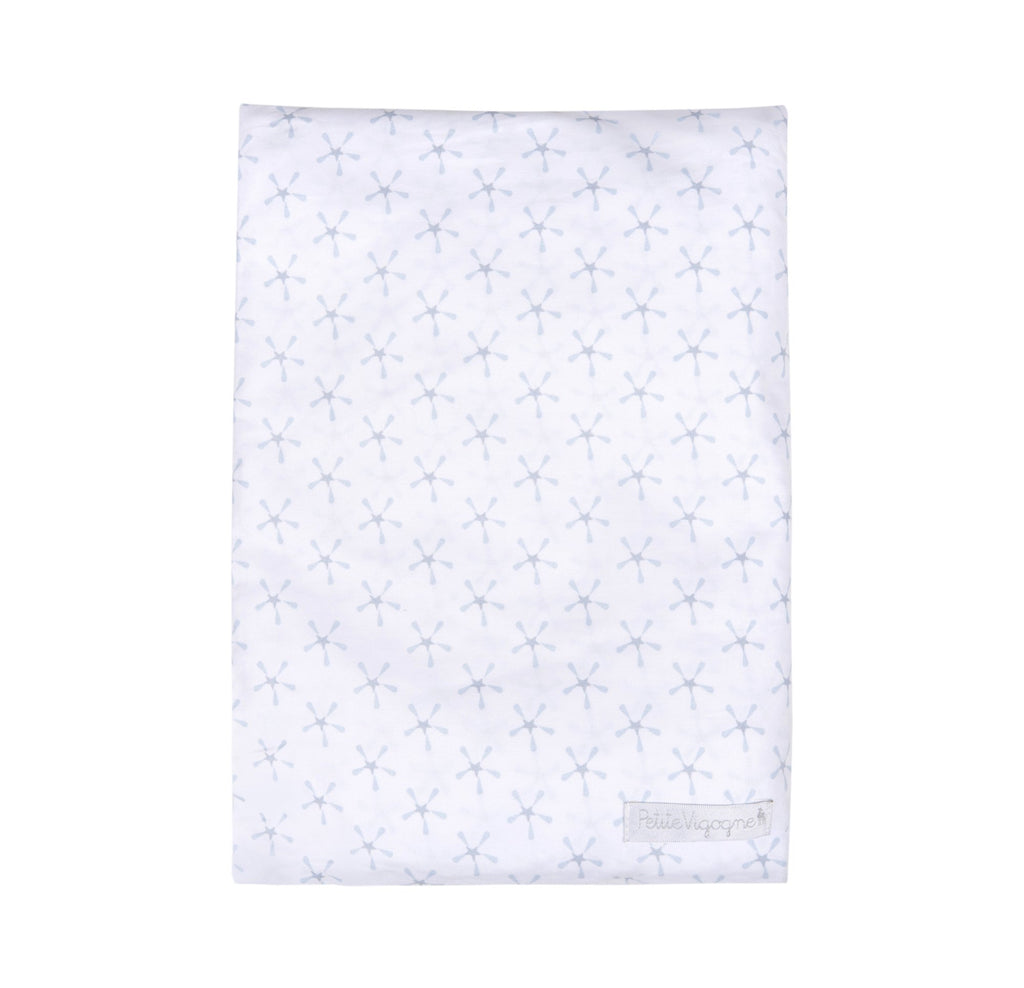 Superstar Crib Fitted Sheet - Blue