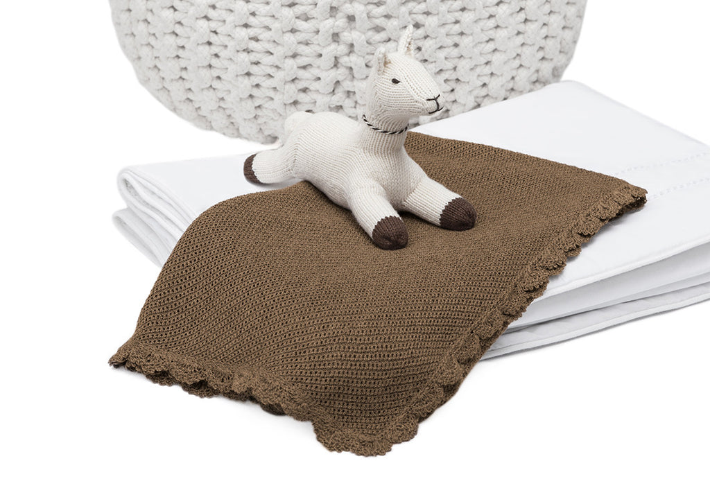 Limited-Edition Jolie 100% Vicuña Blanket