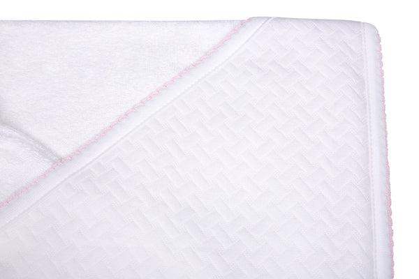 Pima Cotton Baby Hooded Towel With Washing Cloth Petite