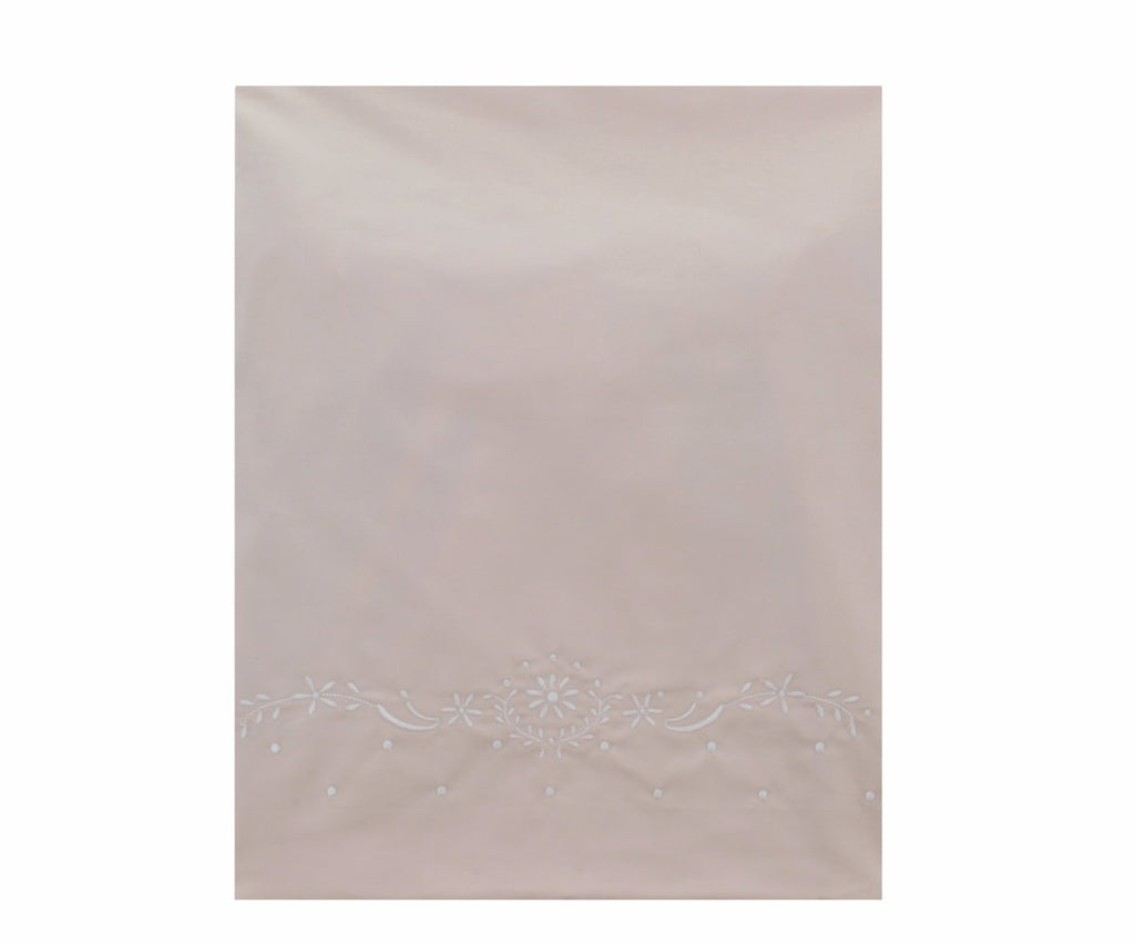 Pima Cotton Belle Crib Sheet - Pink