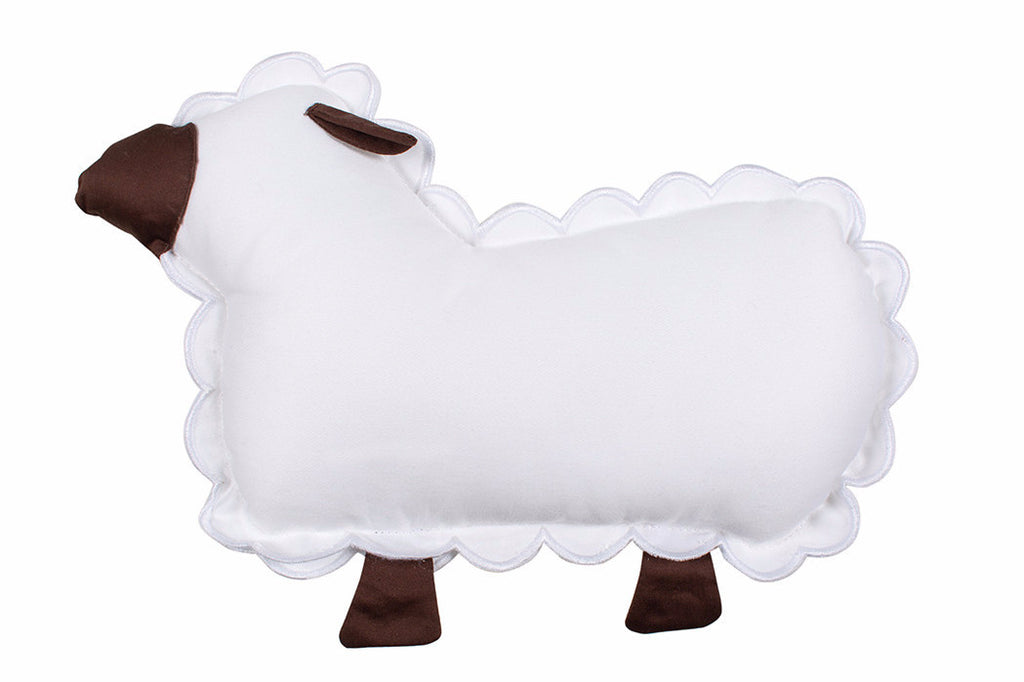 Petite Vigogne Black Sheep decorative pillow