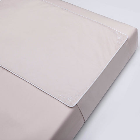 Belle Pink Crib Sheet Protector