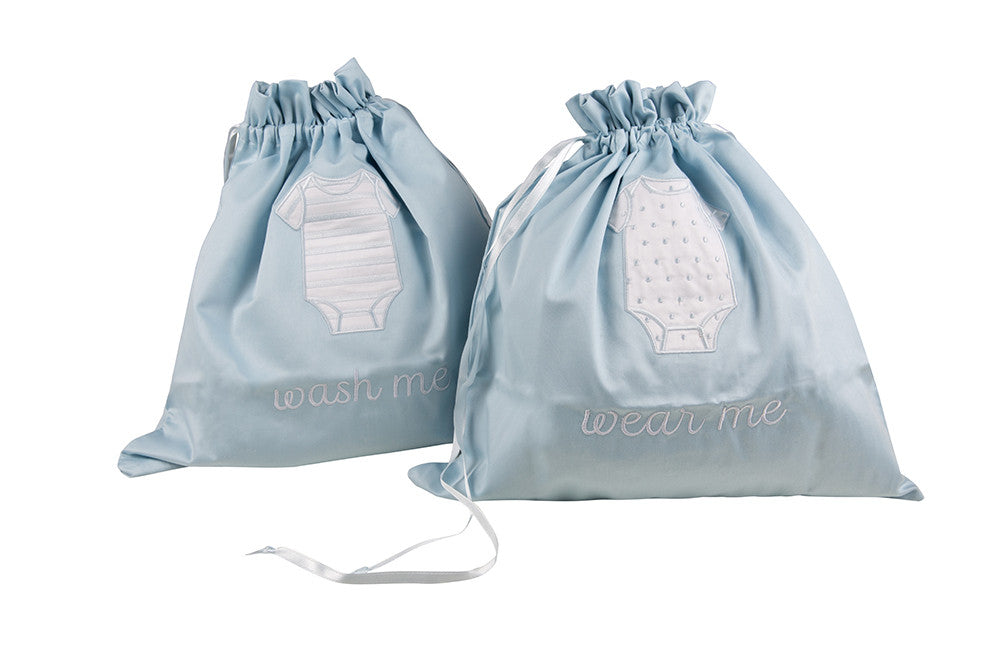 To Wear & To Wash Bags - Blue
