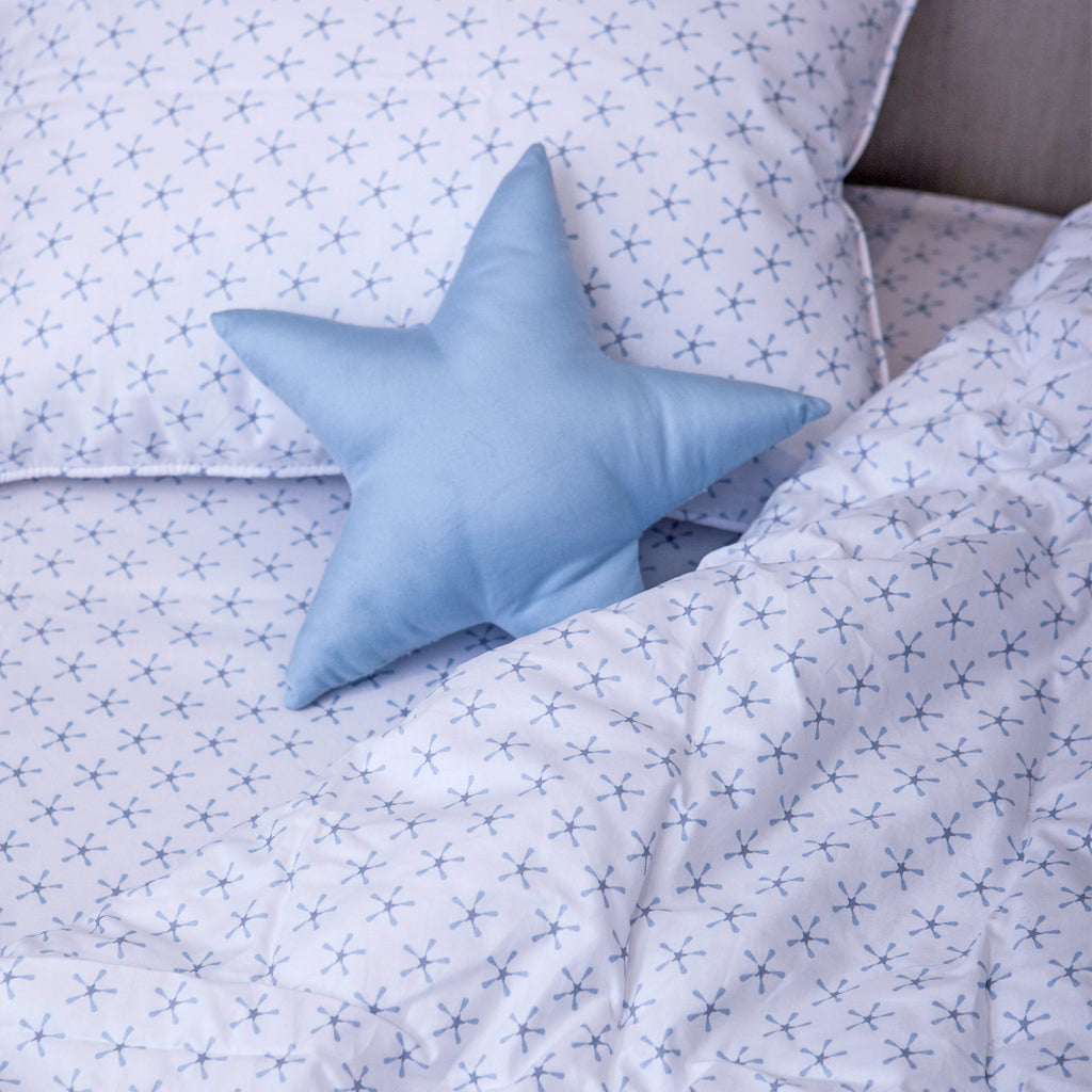 Superstar Twin Sheet Set - Blue