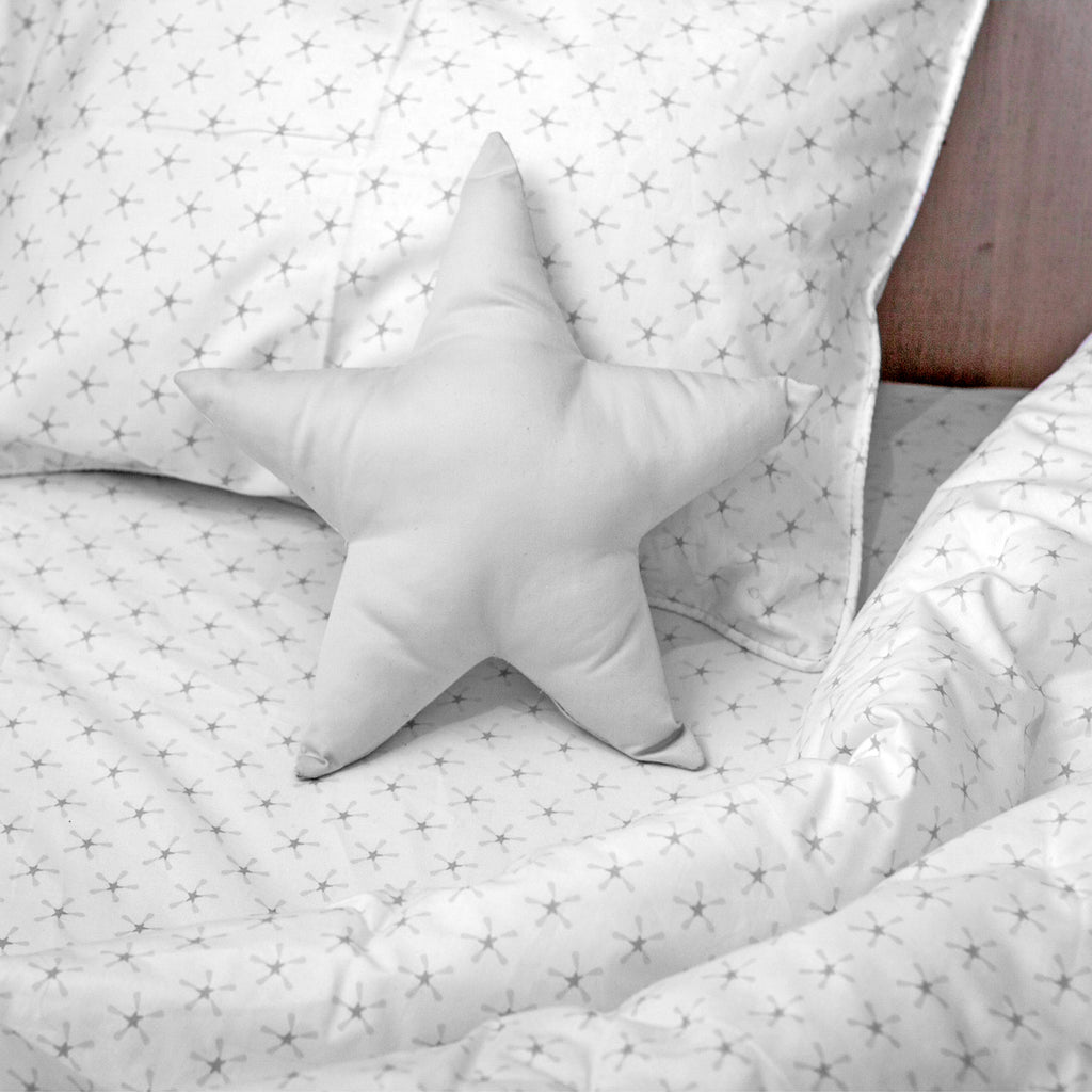 Superstar Twin Sheet Set - Gray