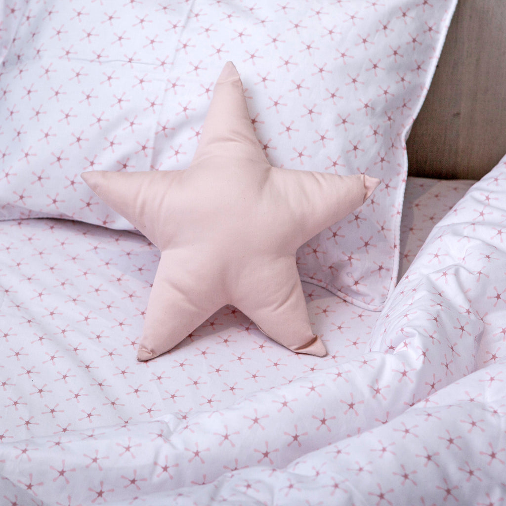 Superstar Twin Sheet Set - Pink