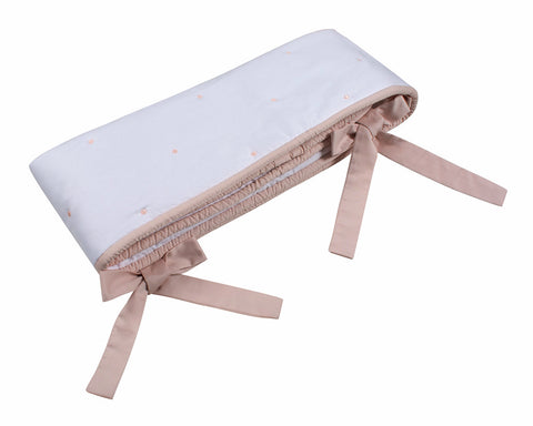 Belle Pink Crib Rail Cover